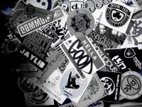 Hip Hop Sticker Bed